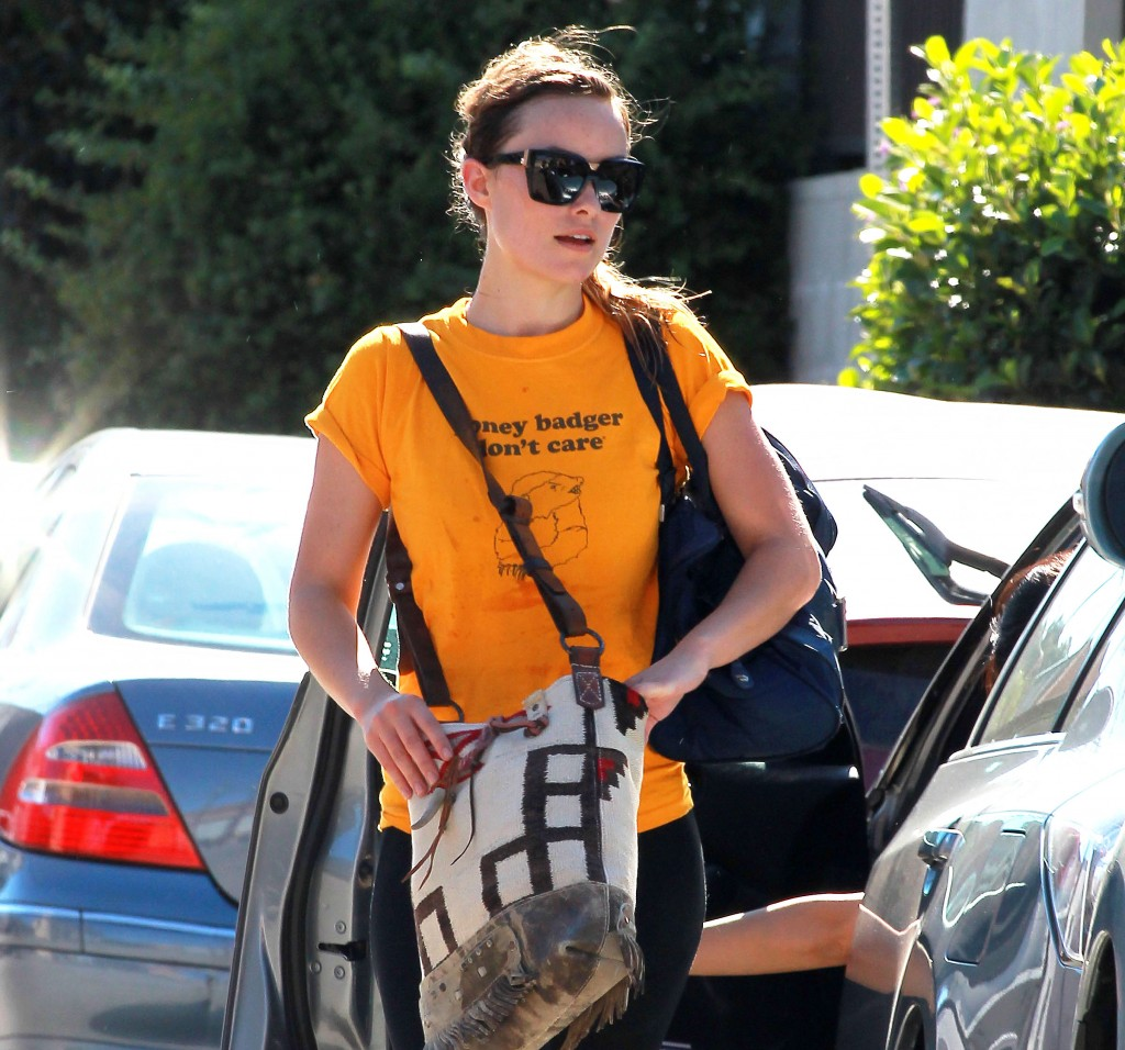 Olivia Wilde Honey Badger Shirt